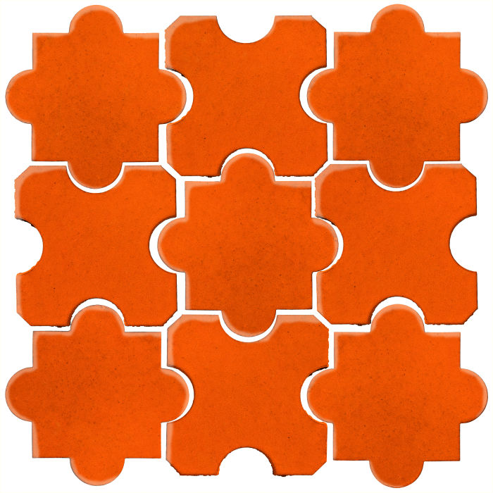 Studio Field Arabesque Pattern 8B Sunset 1585c