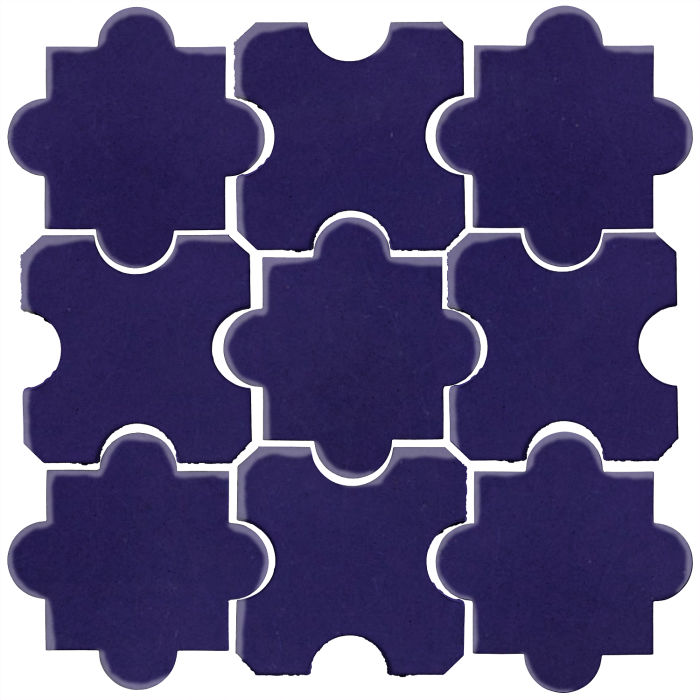 Studio Field Arabesque Pattern 8B Ultramarine 2758c