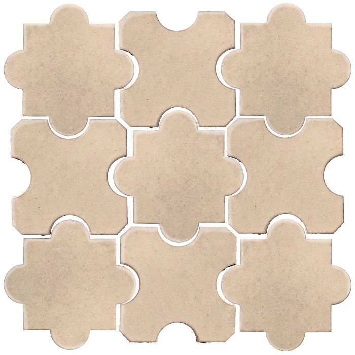 Studio Field Arabesque Pattern 8B White Bread 7506c