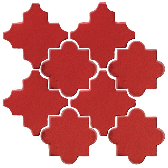 Studio Field Arabesque Pattern 8C Apple Valley Red