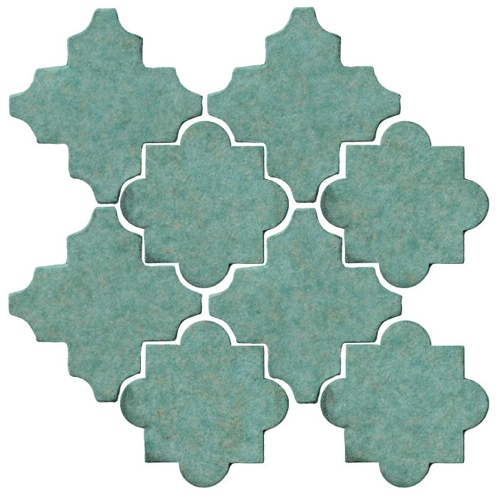 Studio Field Arabesque Pattern 8C Aqua 5503u