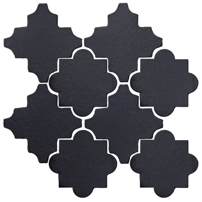 Studio Field Arabesque Pattern 8C Black Diamond