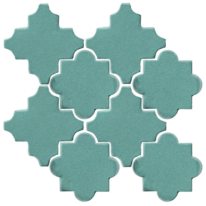Studio Field Arabesque Pattern 8C Blue Haze 7458c