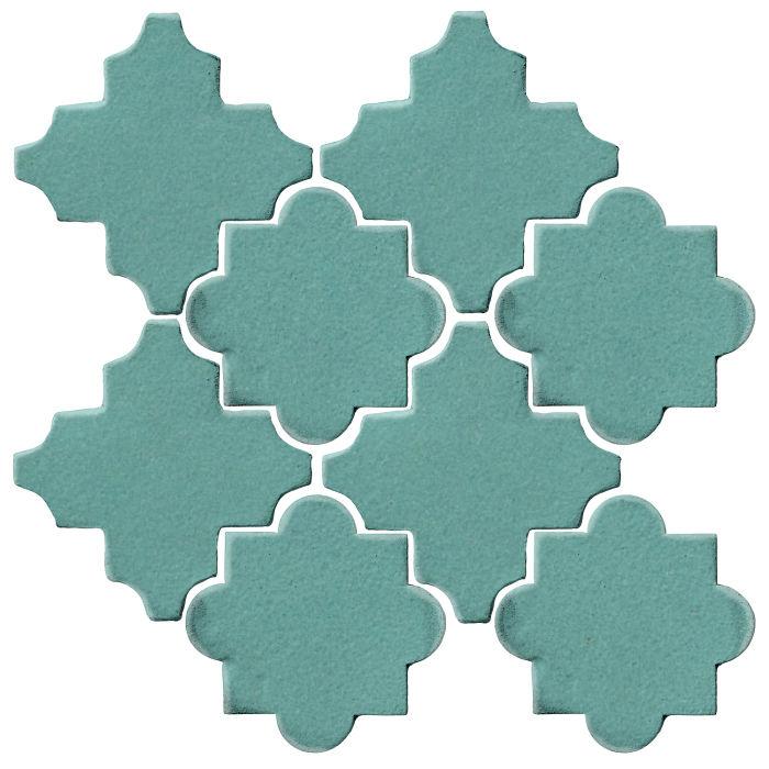 Studio Field Arabesque Pattern 8C Blue Haze 7458c