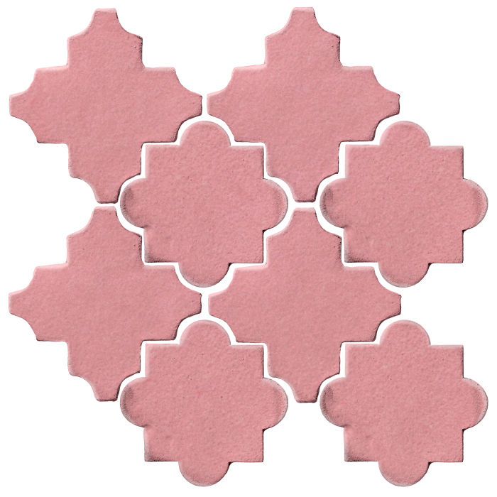 Studio Field Arabesque Pattern 8C Bubble Gum
