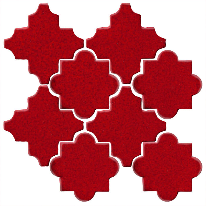 Studio Field Arabesque Pattern 8C Cadmium Red 202c
