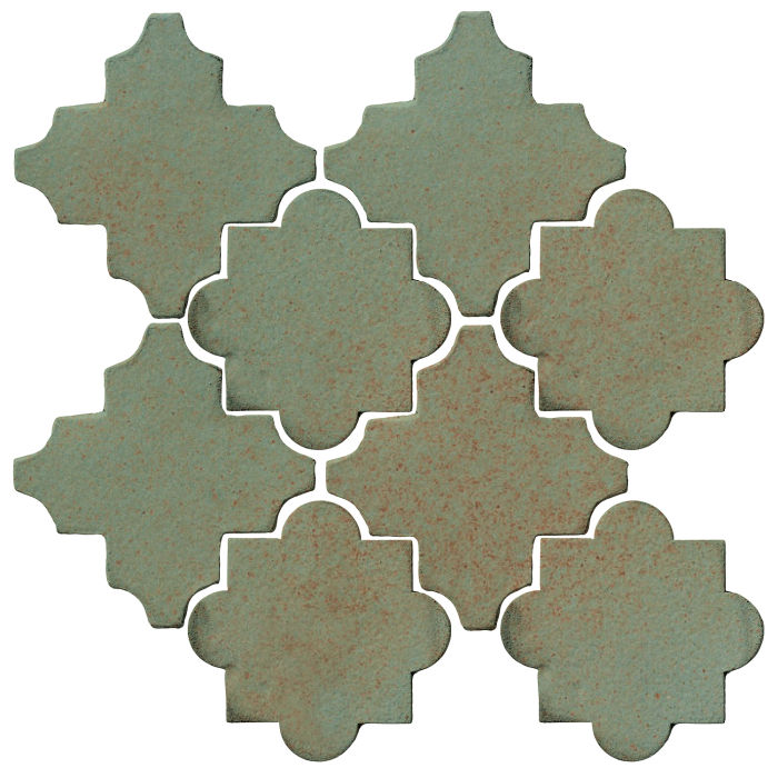 Studio Field Arabesque Pattern 8C Chrome