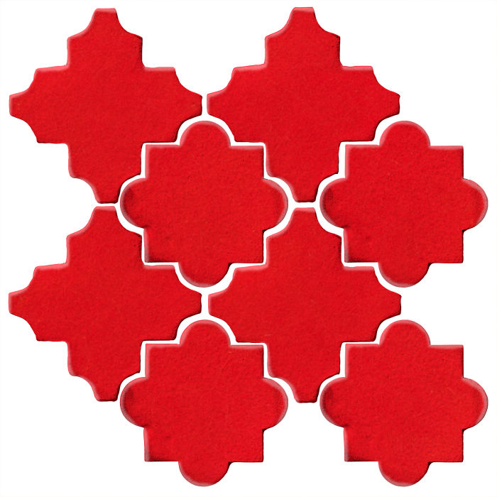 Studio Field Arabesque Pattern 8C Cherry Tomato 7621c