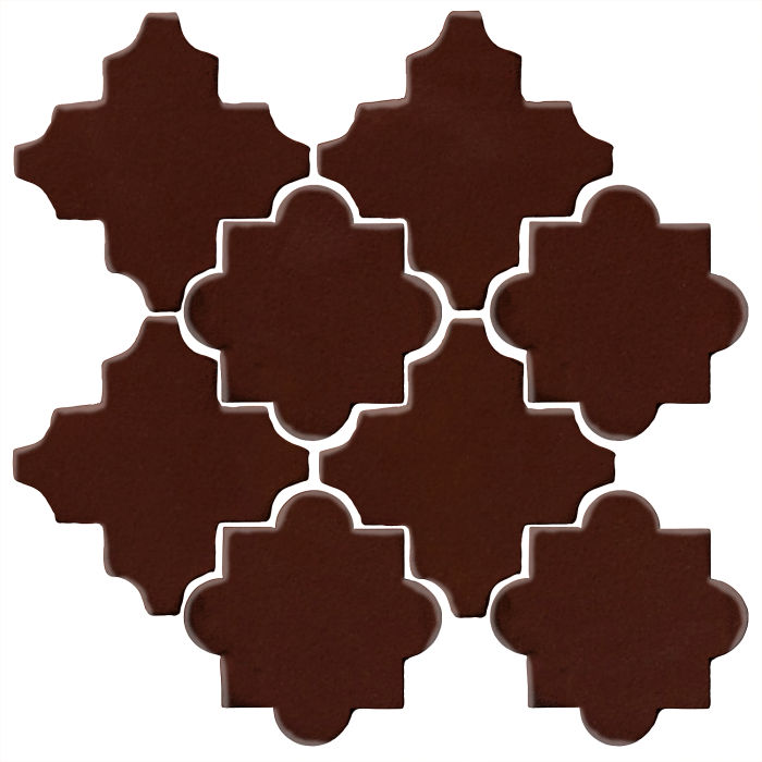 Studio Field Arabesque Pattern 8C Cordovan 476c