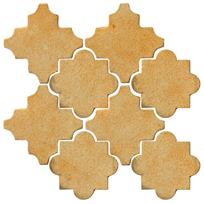Studio Field Arabesque Pattern 8C Deli Mustard 7551u