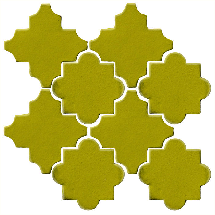 Studio Field Arabesque Pattern 8C Guacamole 7495c