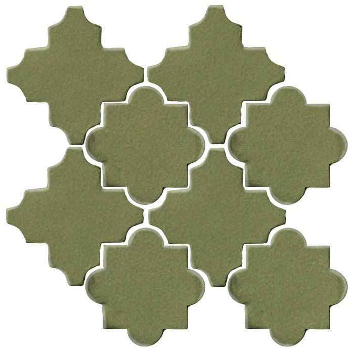 Studio Field Arabesque Pattern 8C Kelp 5615c