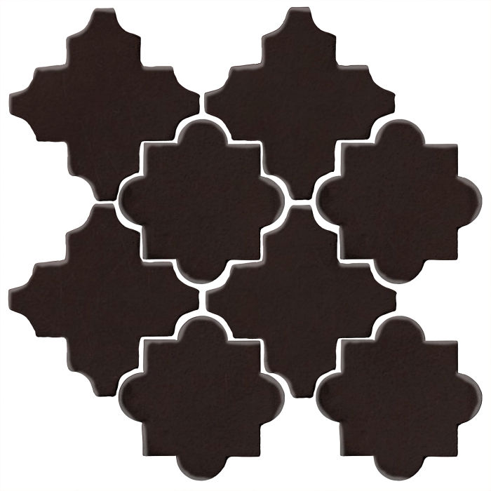 Studio Field Arabesque Pattern 8C Licorice