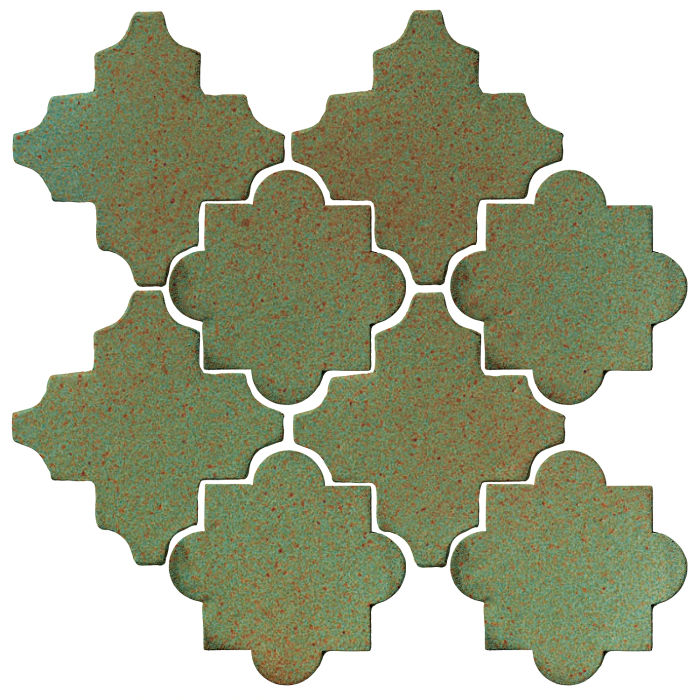 Studio Field Arabesque Pattern 8C Light Copper