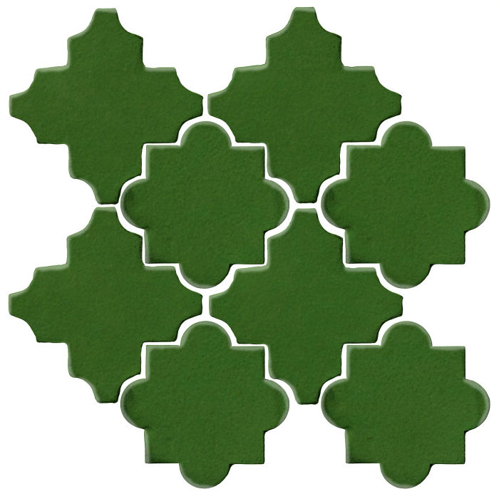 Studio Field Arabesque Pattern 8C Lucky Green 7734c