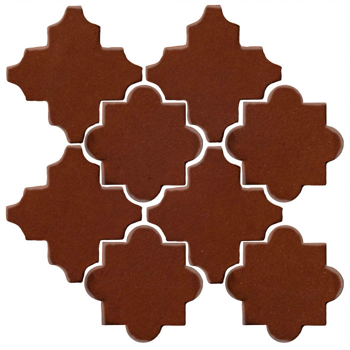 Studio Field Arabesque Pattern 8C Mocha 7581c