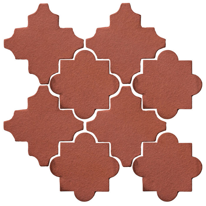 Studio Field Arabesque Pattern 8C Monrovia Red