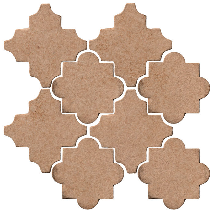 Studio Field Arabesque Pattern 8C Nut Shell 7504u