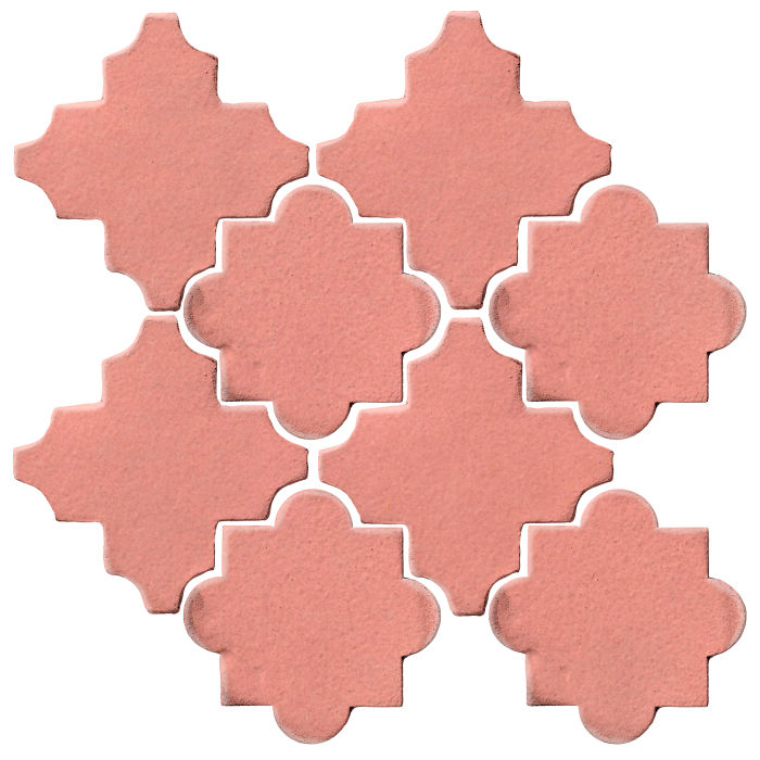 Studio Field Arabesque Pattern 8C Peach Pie
