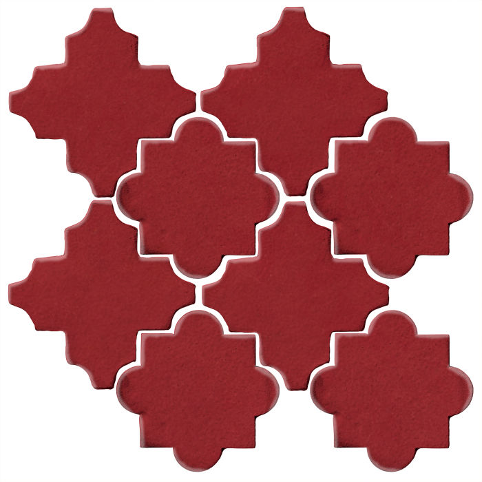 Studio Field Arabesque Pattern 8C Pinot Noir 7642c
