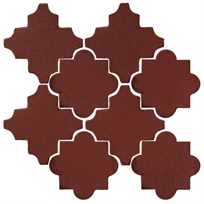 Studio Field Arabesque Pattern 8C Pueblo Red