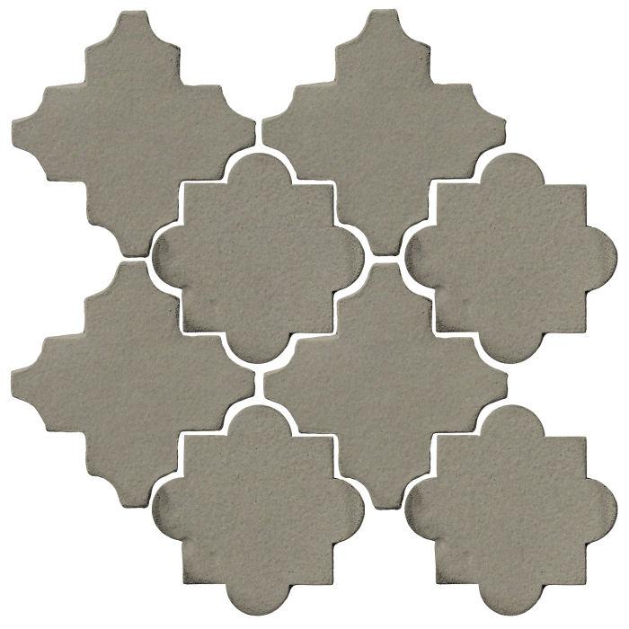 Studio Field Arabesque Pattern 8C Rhino 418u