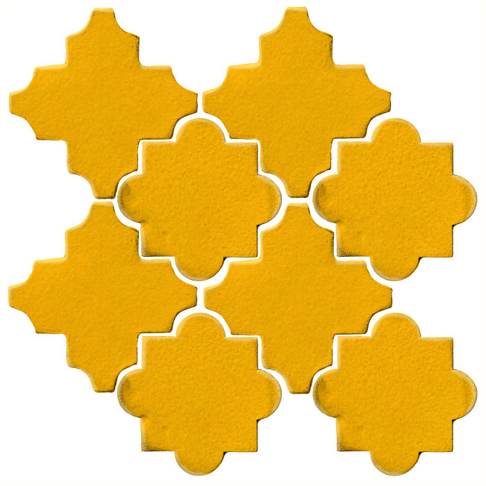 Studio Field Arabesque Pattern 8C Sunflower 1225c