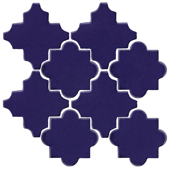 Studio Field Arabesque Pattern 8C Ultramarine 2758c