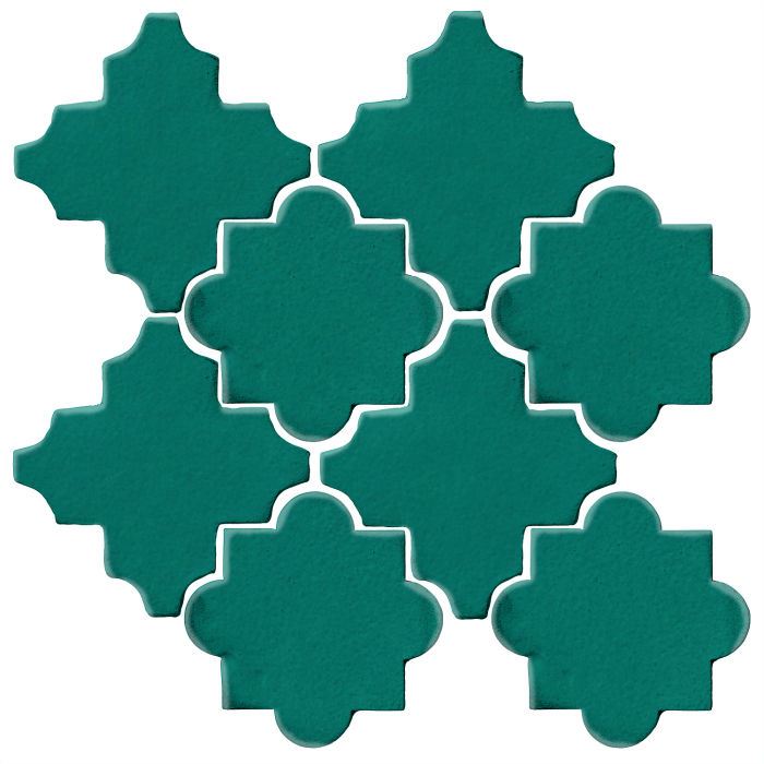Studio Field Arabesque Pattern 8C Viridian 7721c