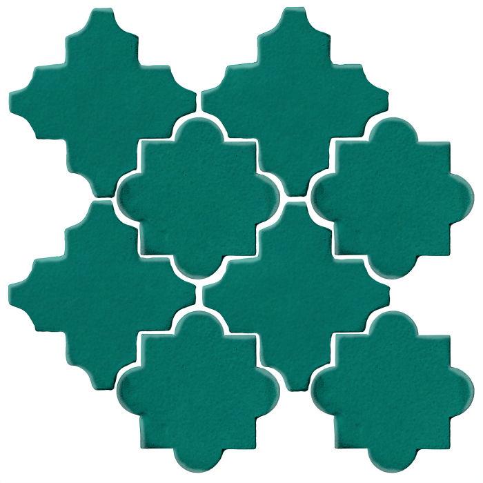 Studio Field Arabesque Pattern 8C Viridian 7721c