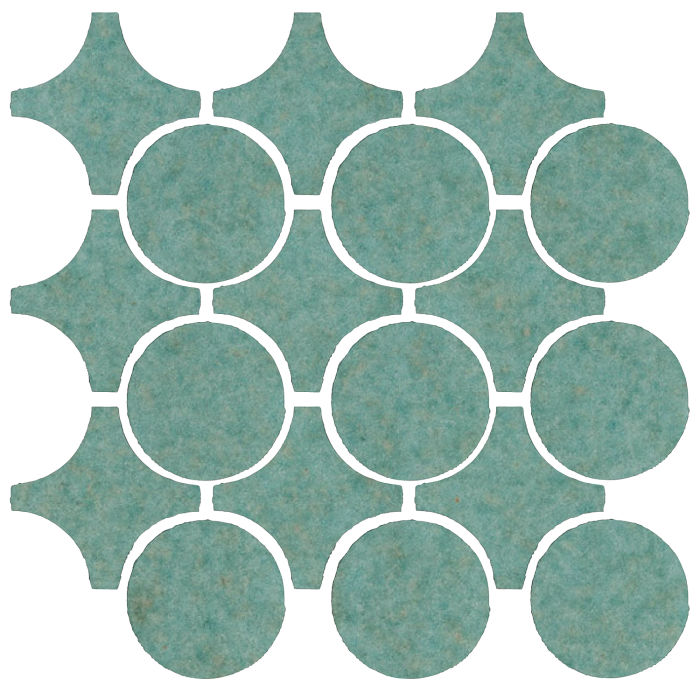 Studio Field Arabesque Pattern 9A Aqua 5503u