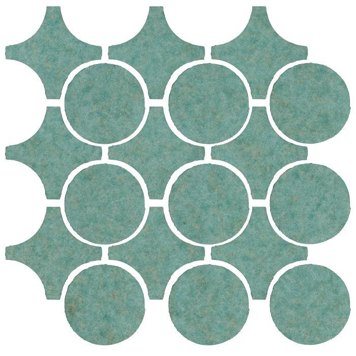 Studio Field Arabesque Pattern 9A Aqua 5503u