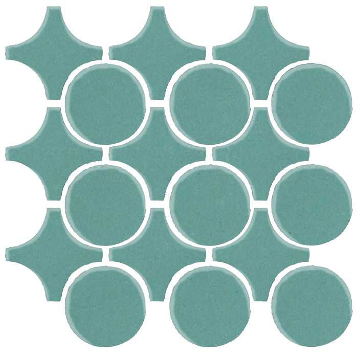 Studio Field Arabesque Pattern 9A Blue Haze 7458c