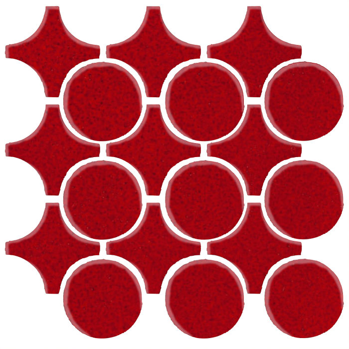 Studio Field Arabesque Pattern 9A Cadmium Red 202c