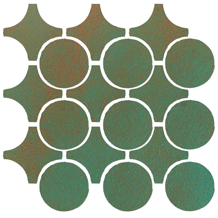 Studio Field Arabesque Pattern 9A Copper