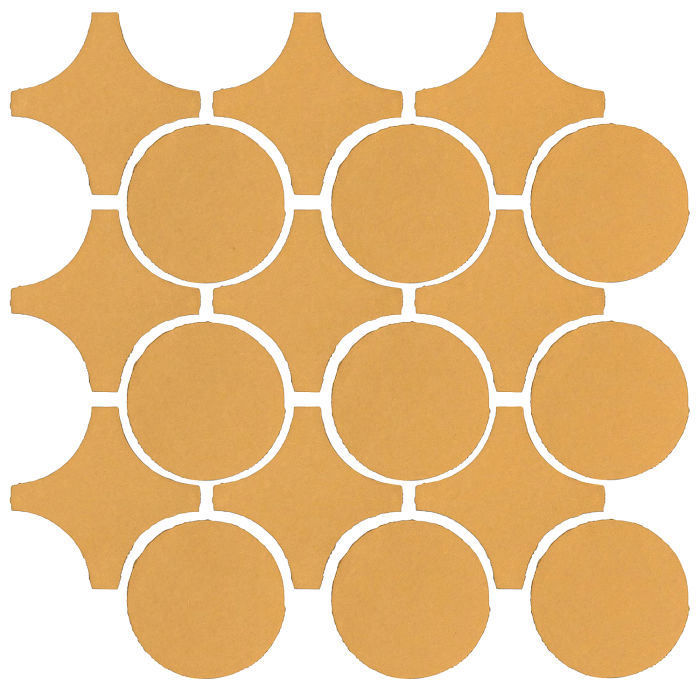 Studio Field Arabesque Pattern 9A Custard 7403u