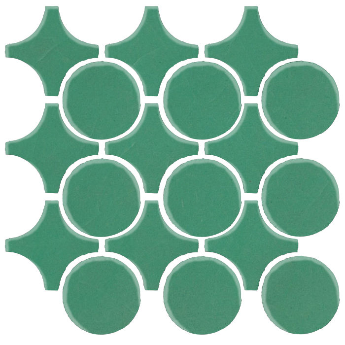 Studio Field Arabesque Pattern 9A Kale 7723c