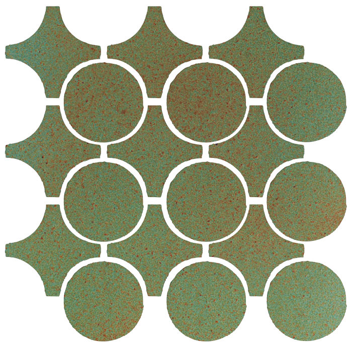 Studio Field Arabesque Pattern 9A Light Copper