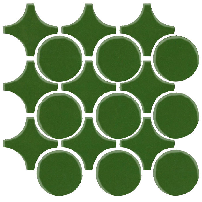 Studio Field Arabesque Pattern 9A Lucky Green 7734c
