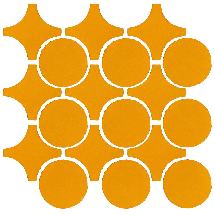 Studio Field Arabesque Pattern 9A Mandarin 129u
