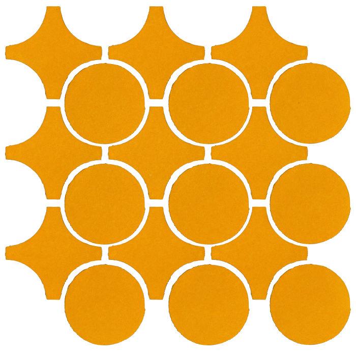 Studio Field Arabesque Pattern 9A Mandarin 129u