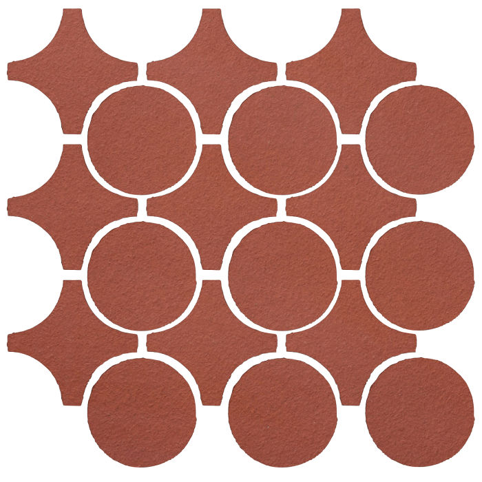 Studio Field Arabesque Pattern 9A Monrovia Red