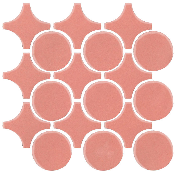 Studio Field Arabesque Pattern 9A Peach Pie