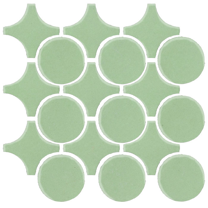 Studio Field Arabesque Pattern 9A Peppermint