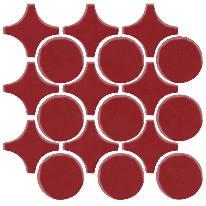 Studio Field Arabesque Pattern 9A Pinot Noir 7642c