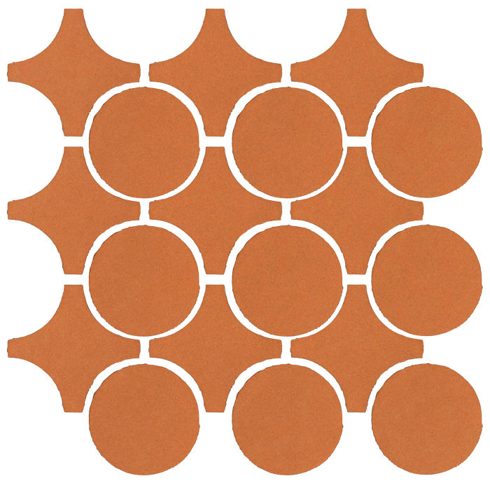 Studio Field Arabesque Pattern 9A Pottery Brown 470u