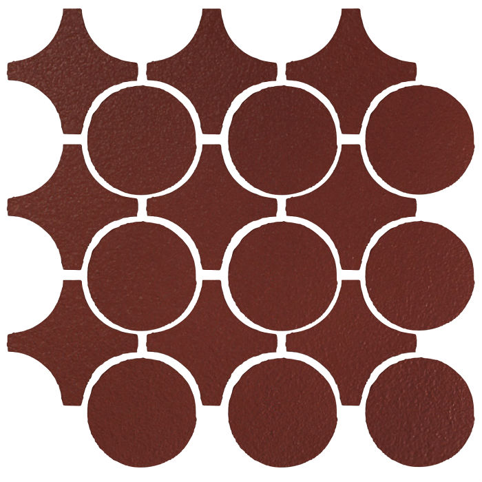 Studio Field Arabesque Pattern 9A Pueblo Red