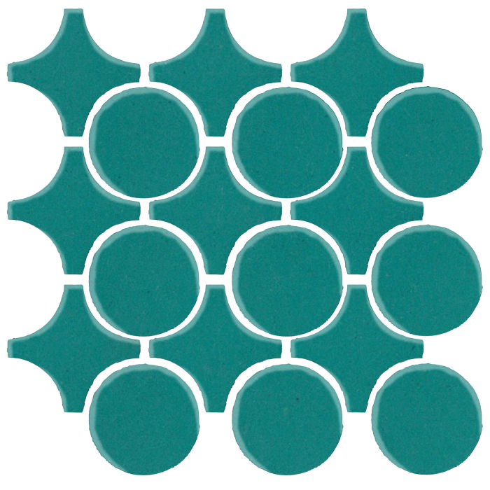 Studio Field Arabesque Pattern 9A Real Teal 5483c