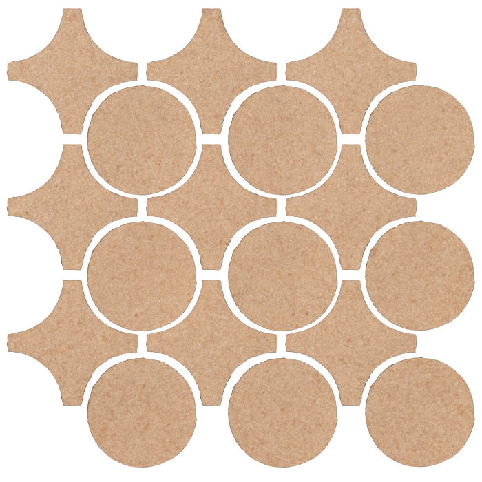Studio Field Arabesque Pattern 9A Shiitake 466u