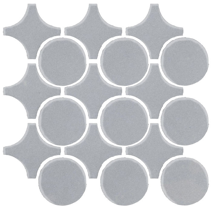 Studio Field Arabesque Pattern 9A Silver Shadow